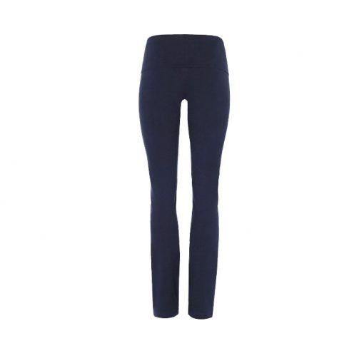 mandala rolldown pants blue night