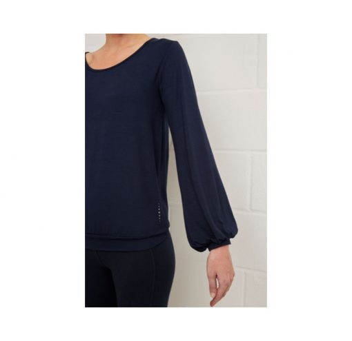 asquith long sleeve smooth you tee navy 3