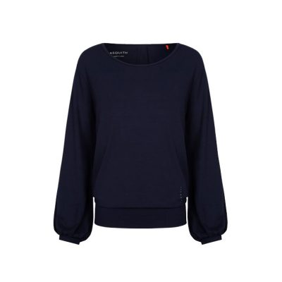 asquith long sleeve smooth you tee navy