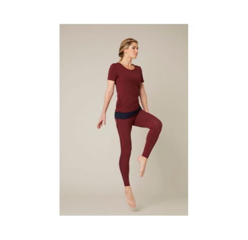asquith bend it tee claret