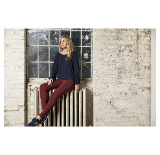 asquith flow with it leggings claret