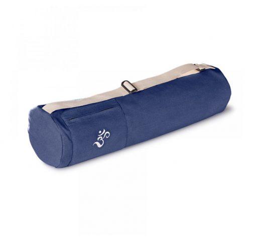 yogatasche  bio lotuscraft mysore blau