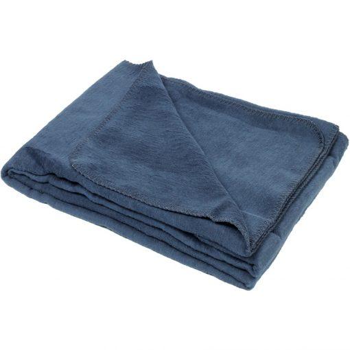 yogadecke baumwolle dunkelblau
