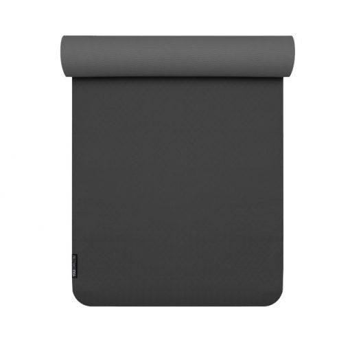 yogamatte tpe schwarz anthrazit