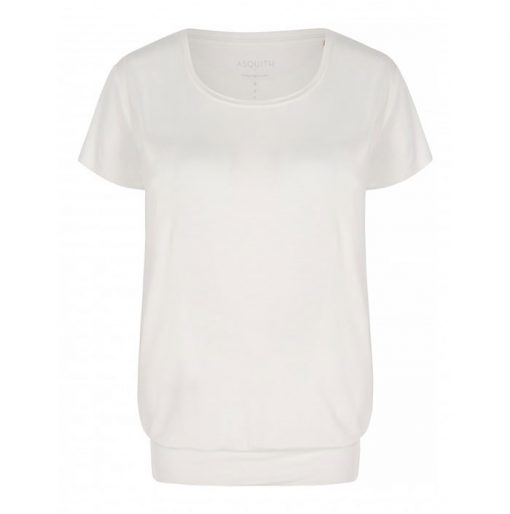 asquith smooth you tee ivory