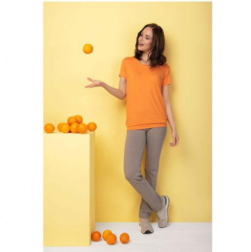asquith smooth you tee orange