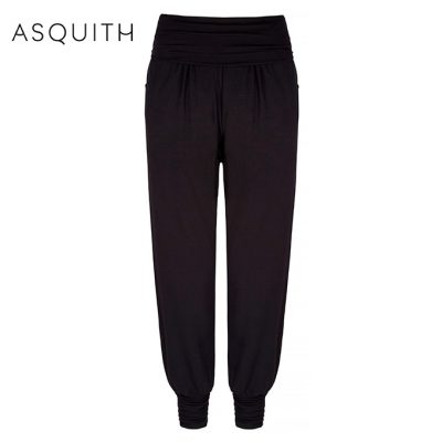 Asquith Long Harem Yoga Pants 2021 Black