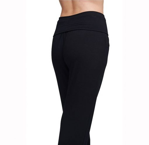 asquith yogahose long harem pants black
