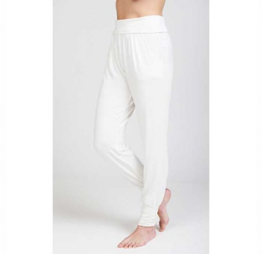 asquith yogahose long harem pants ivory 4