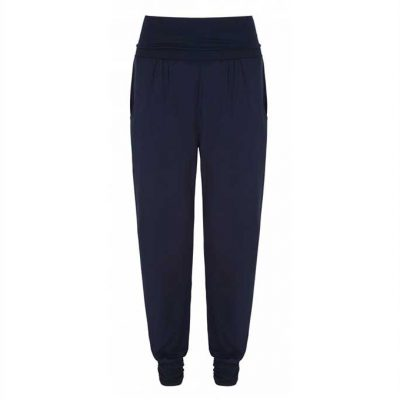 asquith yogahose long harem pants navy