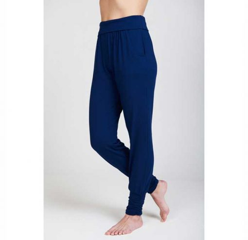 asquith yogahose long harem pants navy 3
