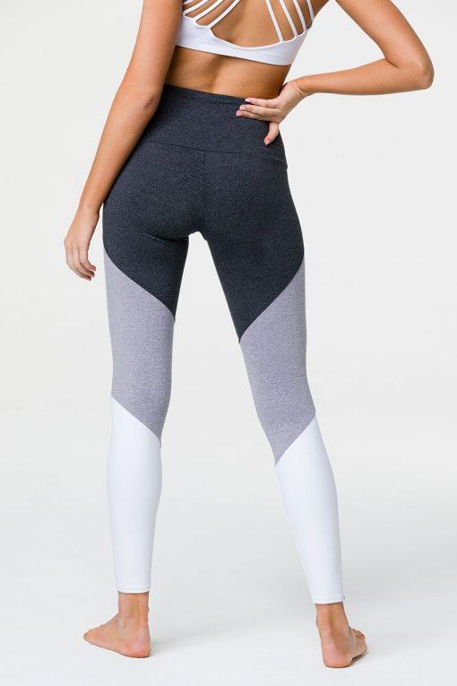 onzie high rise track leggings slate combo 2