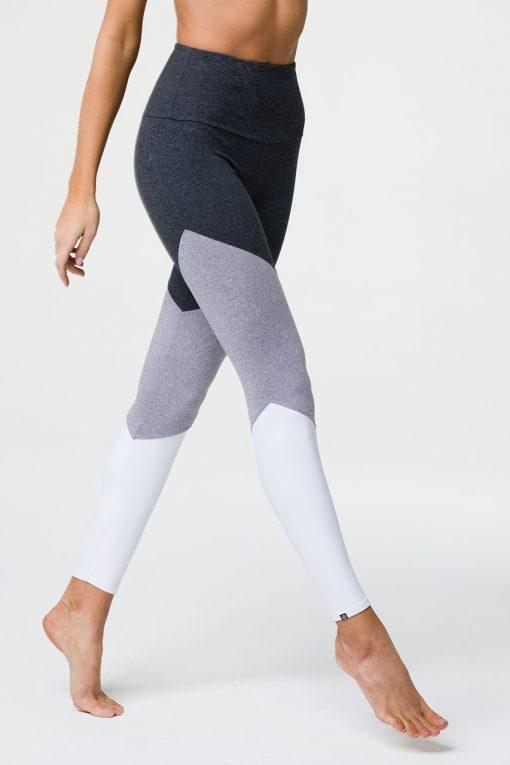 onzie high rise track leggings slate combo 3