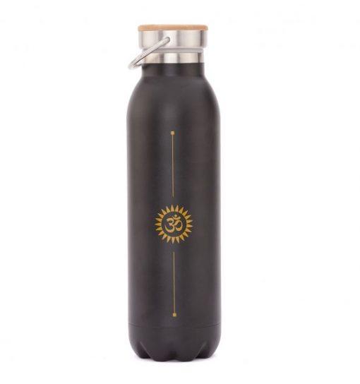 trinkflasche edelstahl isoliert om