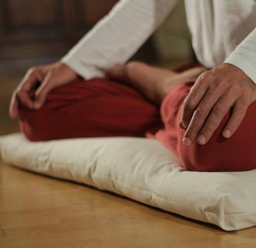 Meditationsmatte Zabuton Beispiel