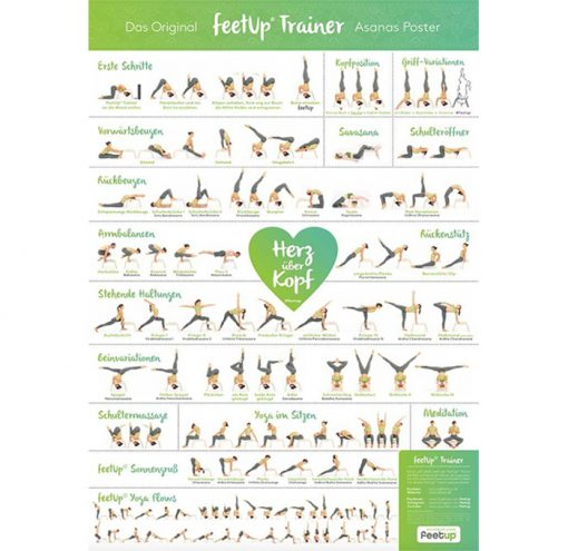 FeetUp® Yoga Kopfstandhocker Poster