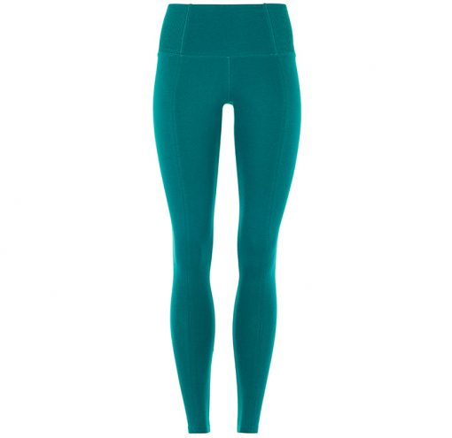 Slim Yoga Pant Tropical Green