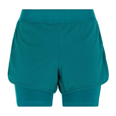 Yoga Fitness Shorts tropical green