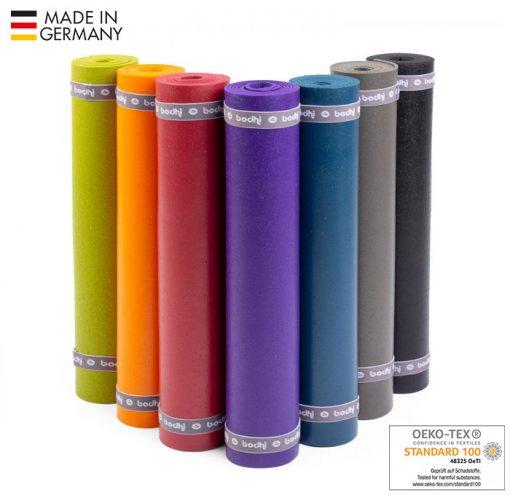 Rishikesh Premium PVC Yogamatte Oeko Tex 100