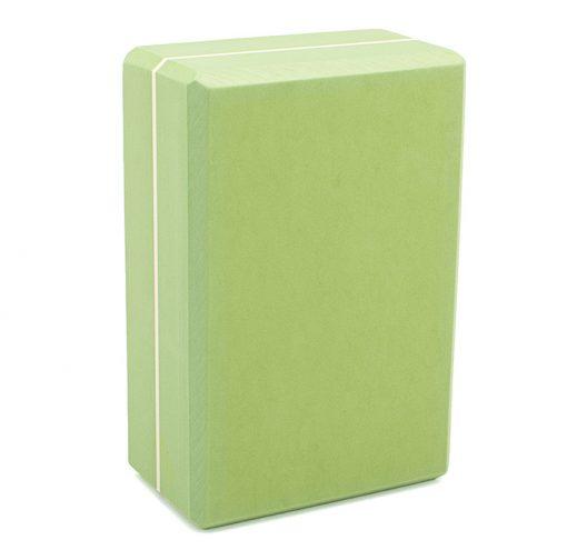 Yoga Block Asana Brick XXL olive grün