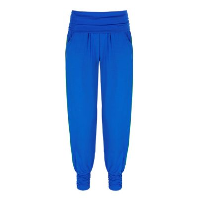 Asquith Fashion Heavly Long Harem Pant electric blue