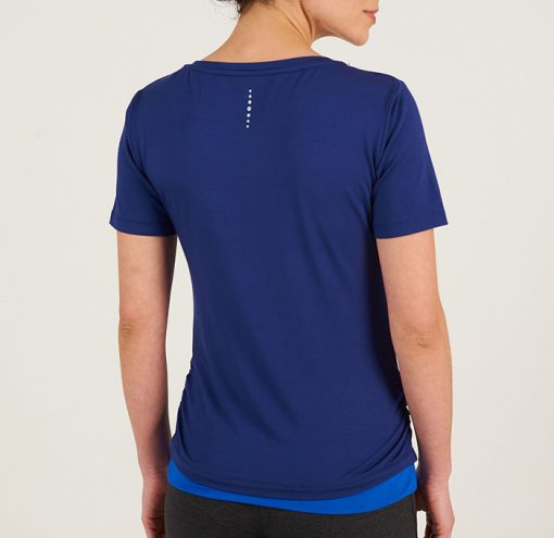 Asquith Fashion Bend it Tee Ink Electric Blue