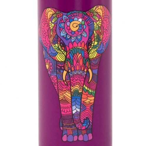 Edelstahl Trinkflasche Holi Elephant 700ml Detail
