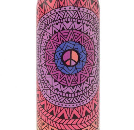 Edelstahl Trinkflasche Mandala 700ml Detail