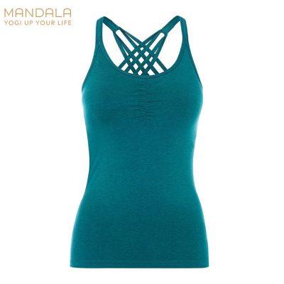 Mandala Fashion Inifinty Top BH tropical green