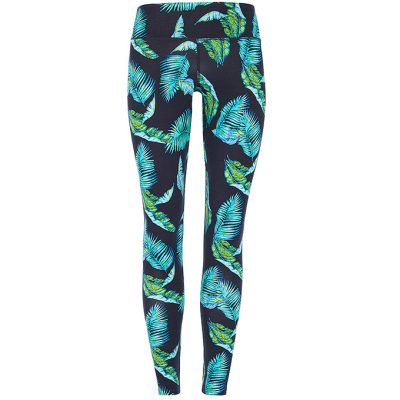Mandala Fashion Join the Class Legging Jungle Leaf