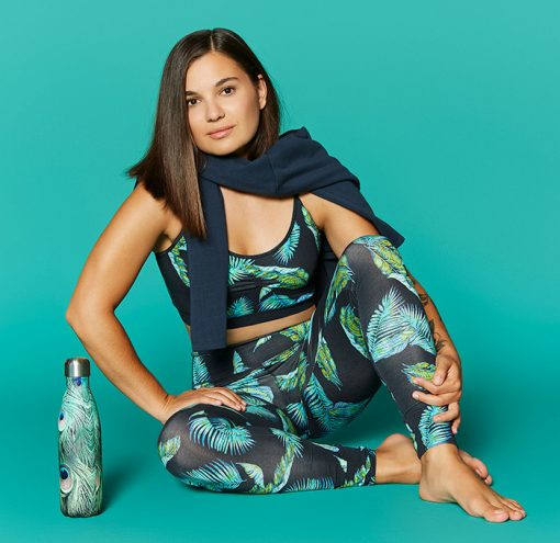 Mandala Fashion Join the Class Legging Jungle Leaf Lifestyle