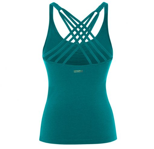 Mandala Fashion Infinity Top Tropical Green