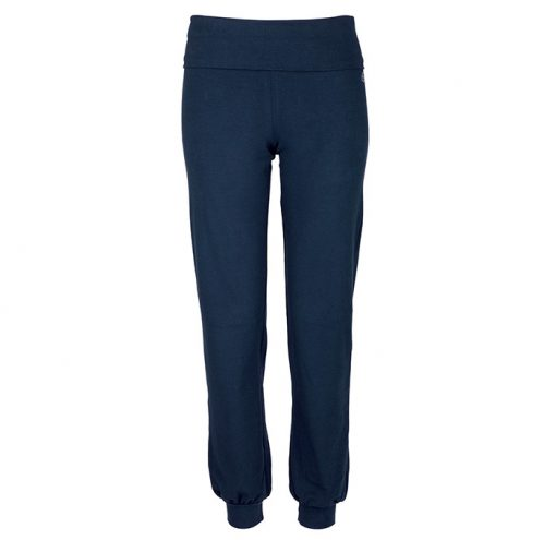 Yamadhi Roll Down Yoga Pants dunkelblau