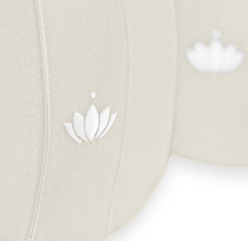 Lotus Bio Meditationskissen 20 cm Natur Details