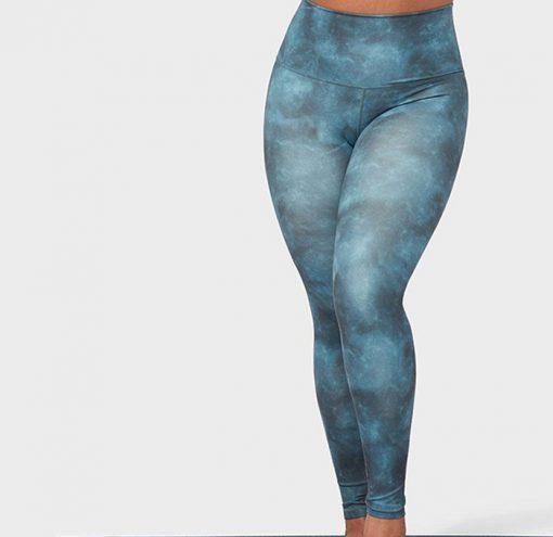 Manduka®essence legging printed blues
