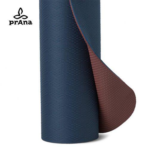prAna E.C.O. TPE Yogamatte Atlantic Blau