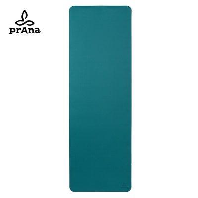 prAna E.C.O. TPE Yogamatte Retro Teal