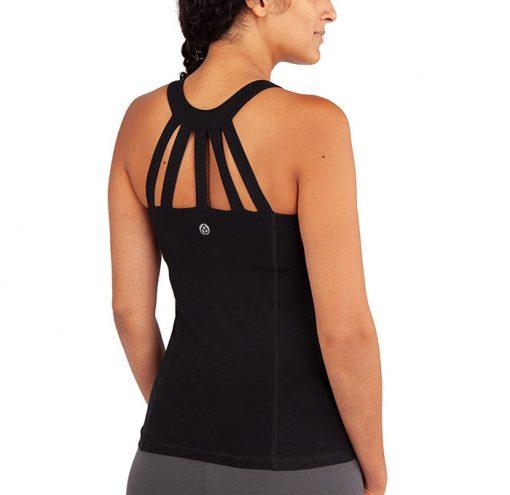 Yamadhi Yoga String Top schwarz