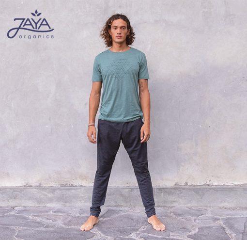 Jaya Fashion Men Yoga Pants Johnny Anthrazit Melange