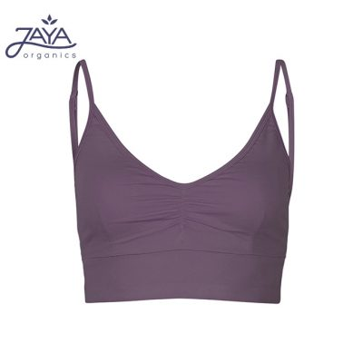 Jaya Fashion Damen Yoga Bra Marine Plum