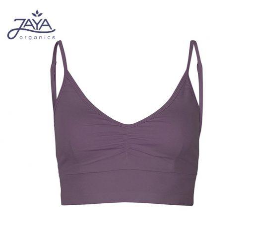 Jaya Fashion Damen Yoga Bra Marine Plum