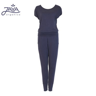 Jaya Fashion Damen Yoga Jumpsuit Raya Nightblue