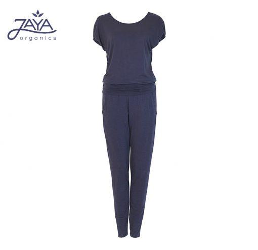 Jaya Fashion Damen Yoga Jumpsuit Raya Nightblue