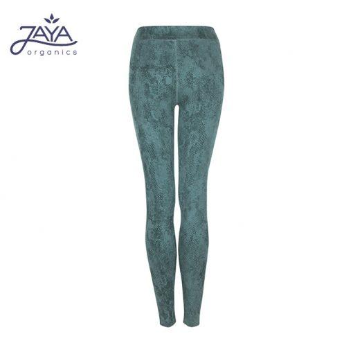 Jaya Fashion Damen Yoga Leggings Sumatra pinegreen