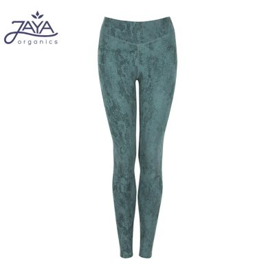 Jaya Fashion Damen Yoga Leggings Sumatra pinegreen