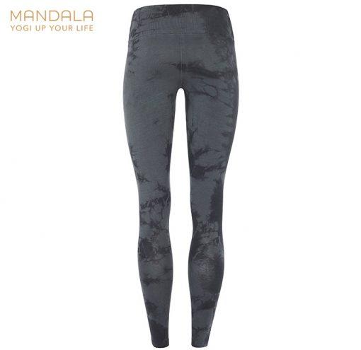 Mandala Fashion High Rise Batik Legging Black Sapphire