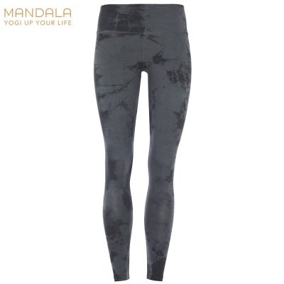 Mandala Fashion High Rise Batik Legging Black Sapphire