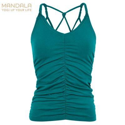 Mandala Fashion Yoga Cable Top Tropical Green