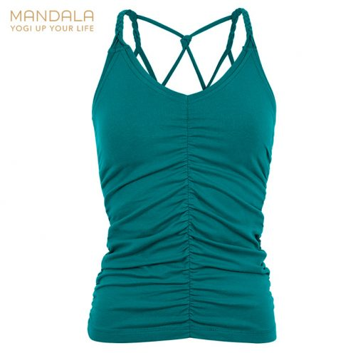 Mandala Fashion Yoga Cable Top Tropical Green