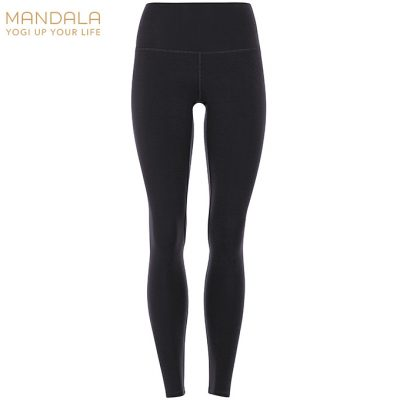 Mandala Fashion High Waist Basic Legging black